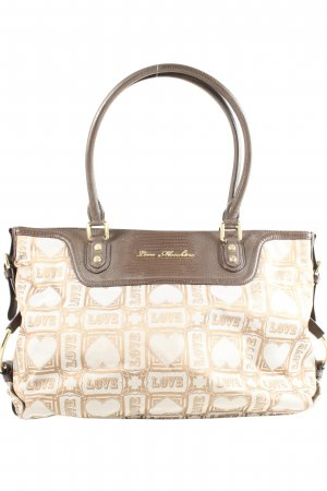 Love Moschino Schultertasche Webmuster Casual-Look