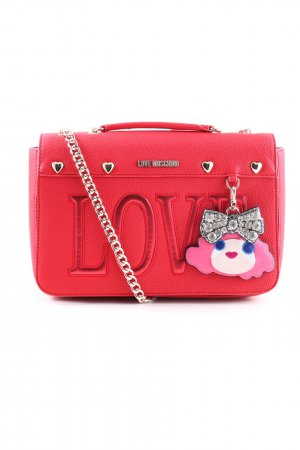 Love Moschino Schultertasche rot Casual-Look