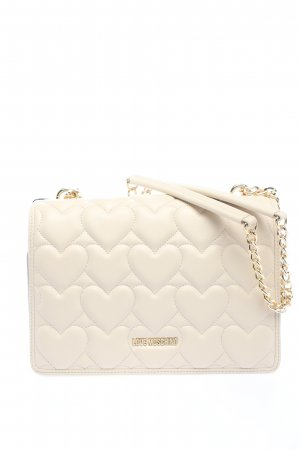 """Love Moschino Shoulder Bag """"Borsa Quilted"""" natural white"""