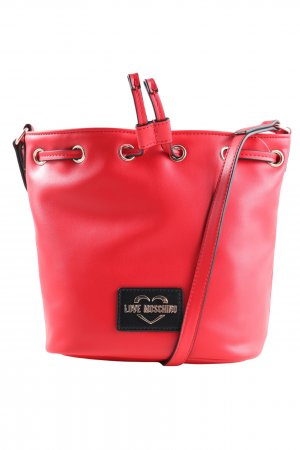 Love Moschino Shoulder Bag red casual look
