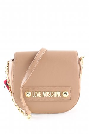 Love Moschino Schultertasche nude Casual-Look