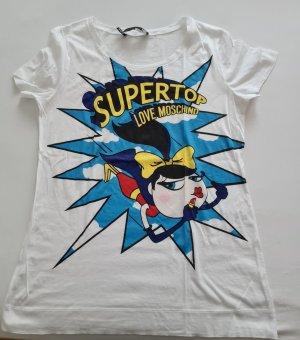 Love Moschino Shirt Gr. M weiß sehr auffallend wie neu