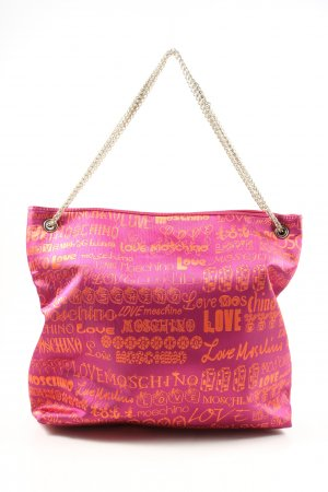 Love Moschino Borsa shopper rosa stile casual