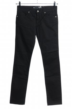 Love Moschino Slim Jeans black casual look
