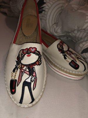 Love Moschino Zapatos sin cordones crema