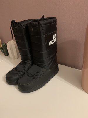 Love Moschino Snow Boots black-white