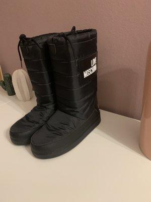 Love Moschino Botas de nieve negro-blanco