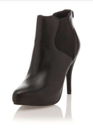 Love Moschino Slip-on Booties black