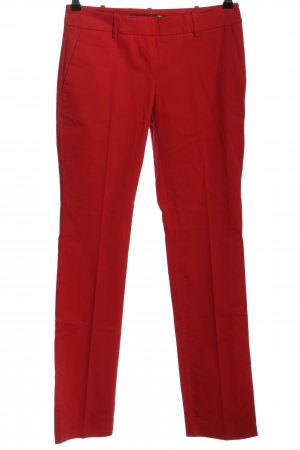 Love Moschino Stoffhose rot Business-Look