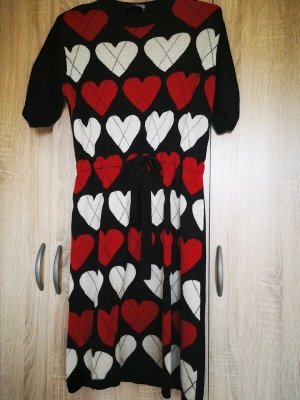 Love Moschino Knitted Dress red
