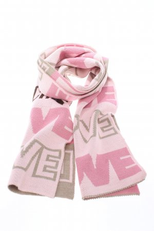 Love Moschino Knitted Scarf printed lettering casual look