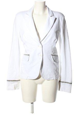 Love Moschino Sweat Blazer white-brown business style