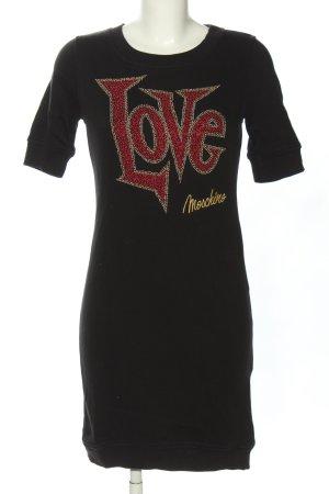 Love Moschino Sukienka dresowa Wydrukowane logo W stylu casual