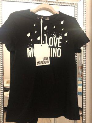 Love Moschino T-Shirt black-white