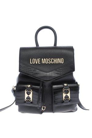 Love Moschino Tagesrucksack schwarz Casual-Look