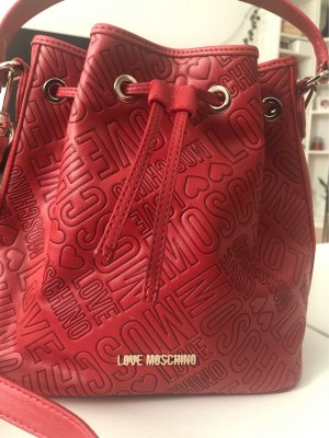 Love Moschino Buideltas donkerrood