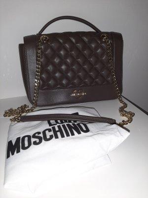 Love Moschino Handbag brown violet