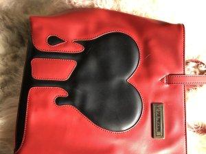 Love Moschino Tragetasche, Schultertasche mit Herz Design
