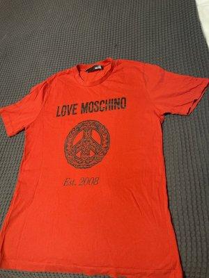 Love Moschino T-Shirt red-black