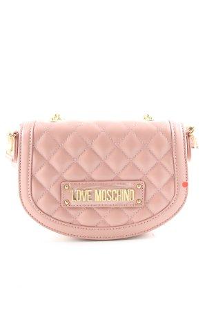 Love Moschino Umhängetasche pink Steppmuster Elegant