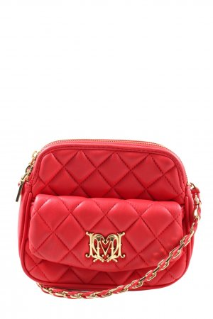 Love Moschino Umhängetasche rot Steppmuster Casual-Look