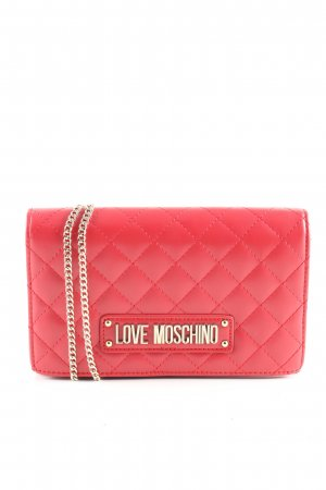 Love Moschino Umhängetasche pink Steppmuster Casual-Look