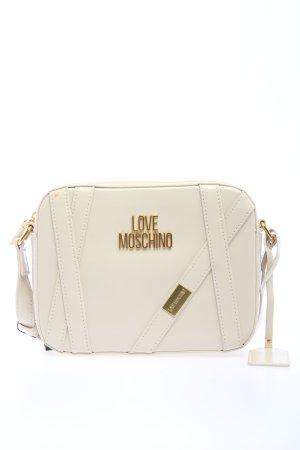 Love Moschino Crossbody bag natural white casual look
