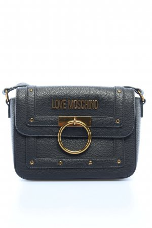 "Love Moschino Umhängetasche ""Borsa Grained Crossbody Bag"" schwarz"