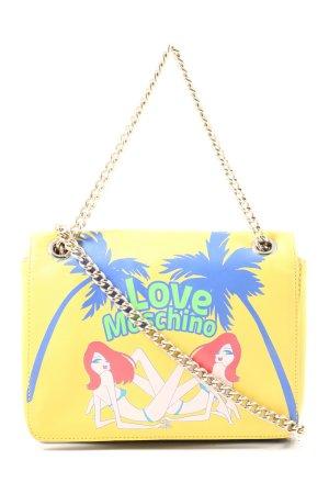 Love Moschino Crossbody bag primrose-blue themed print elegant