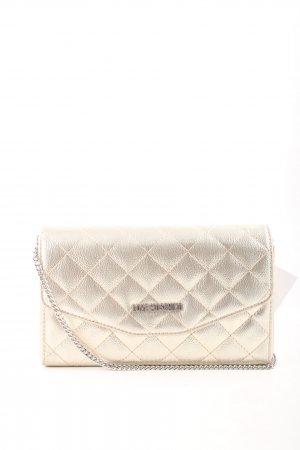 "Love Moschino Umhängetasche ""Quilted MetallicCrossbody Bag Oro"" goldfarben"