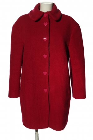 Love Moschino Wollmantel rot Casual-Look