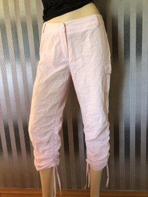 Pantalon 3/4 rose clair