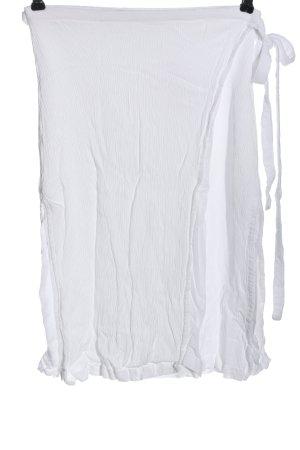 Lovely Pepa Wraparound Skirt white casual look