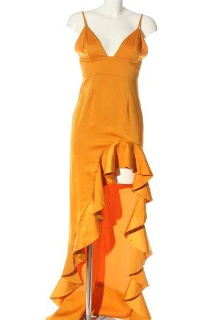 Lovers + friends Cocktail Dress light orange elegant