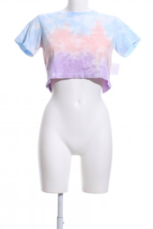 Lovers + friends Cropped Shirt Farbverlauf Casual-Look