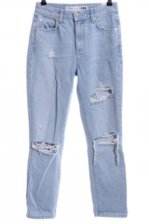 Lovers + friends High Waist Jeans blau Casual-Look