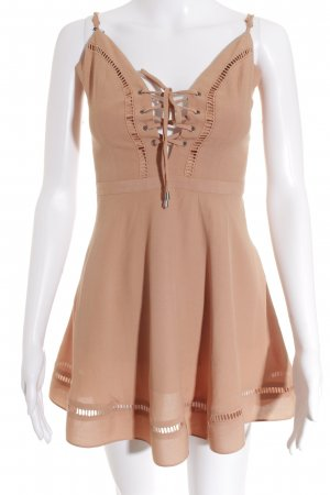 Lovers + friends Minikleid apricot Elegant