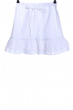 Lovers + friends Broomstick Skirt white business style