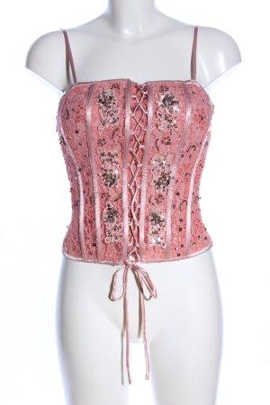 Lovie Corsagen Top pink Elegant