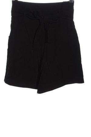Lovjoi High-Waist-Shorts black casual look