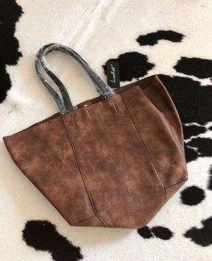 Lovlet Handtasche shopper braun neu Tasche Mode accesoires