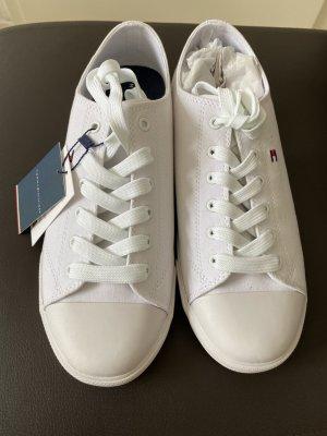 Low-Top Sneaker aus Baumwoll-Canvas
