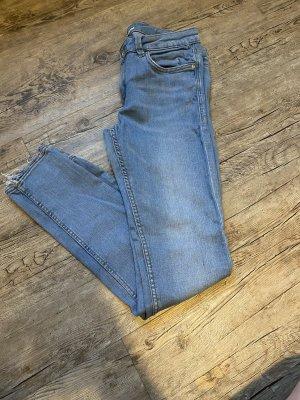 Zara Low Rise Jeans light blue