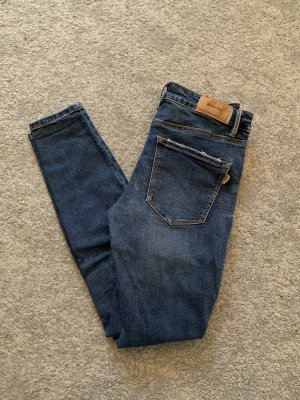 Low waist jeans dark blue