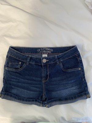 Low waist jeansshorts