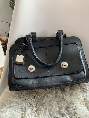 Loyds kleine schwarze Handtasche Leder