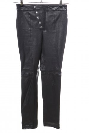 LPA Leather Trousers black casual look