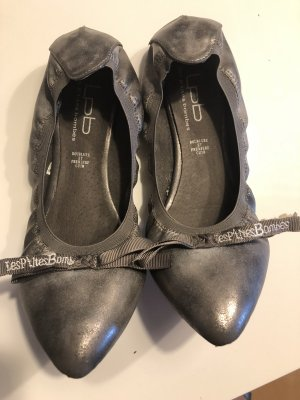 Liebeskind Ballerinas with Toecap grey-silver-colored