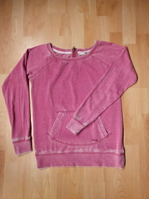 LTB Maglione girocollo rosso lampone-rosa