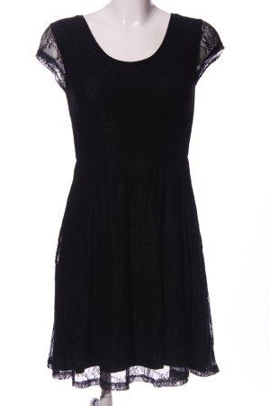 LTB A-Linien Kleid schwarz Business-Look